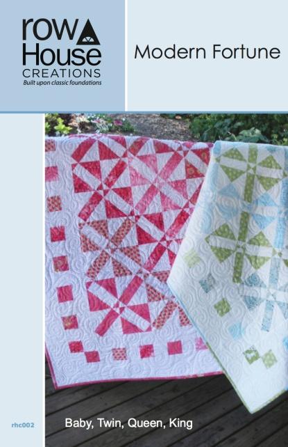 Modern Fortune Modern Quilt Good Fortune Quilt Block Pattern