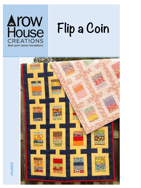 Flip a Coin Pattern Cover