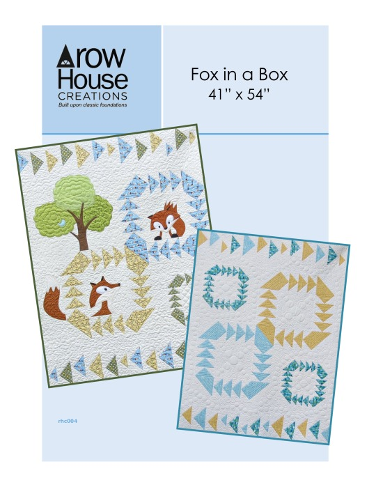 Fox in a Box Fox and Geese Quilt Cover Pattern