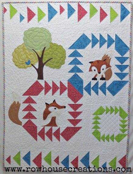 Fox In a Box Quilt Pattern Fox and Geese Quilt Block