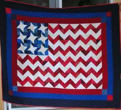 Chevron Flag Quilt