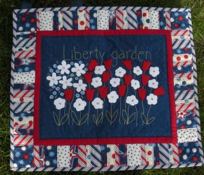 liberty garden madebyabrunnette quilt