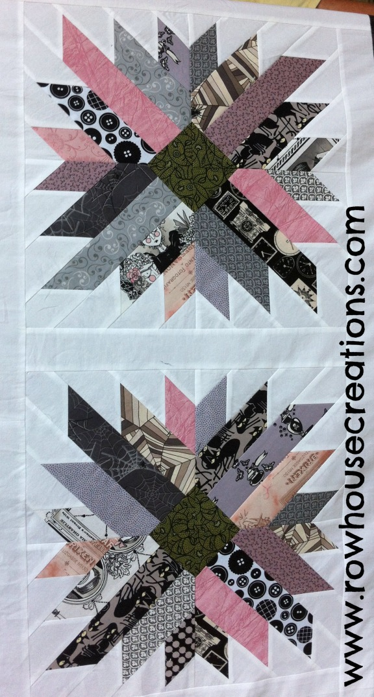 Ghastlies Mums for Melissa Detail Ghastlies Alexander Henry Ghastly Fabric