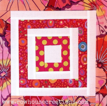 Block 12 Log Cabin Kaffe Fassett