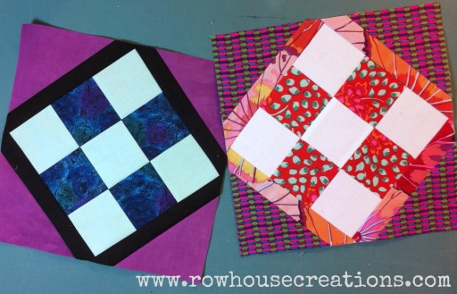 Block13_Both_ Mayors Garden Quilt Block 9-Patch Variation